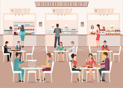 Important Considerations When Planning a Food Court Design Layout